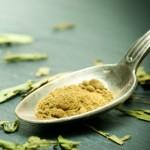 Stevia als Pulver